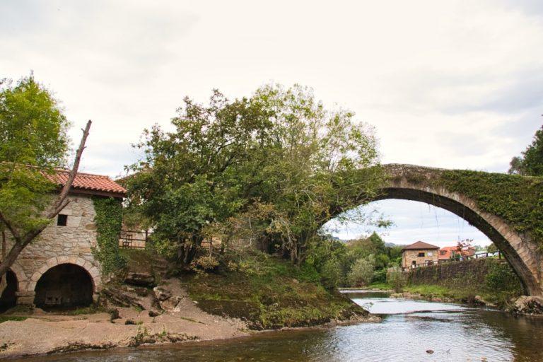 Puente romano Li茅rganes